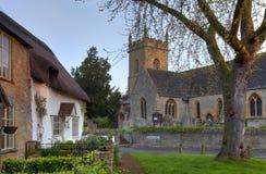 Worcestershire wioska Zdjęcia Stock