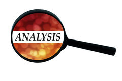 Word analysis Royalty Free Stock Photography