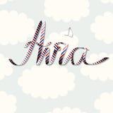 Word Avia Image stock
