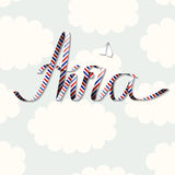 Word Avia Stock Image