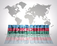 Word Azerbaijan Stock Photography