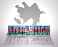 Word Azerbaijan Royalty Free Stock Image