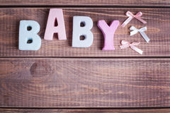 Word baby Royalty Free Stock Images