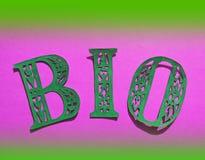 Word - BIO Royalty Free Stock Image
