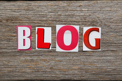 The word Blog Royalty Free Stock Image