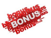 Word Bonus Royalty-vrije Stock Afbeelding