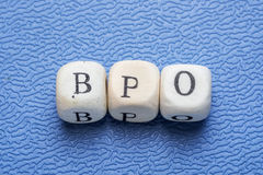 Word bpo Royalty Free Stock Photo