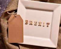 Word brexit royalty-vrije stock fotografie