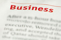 Word Business Stock Images