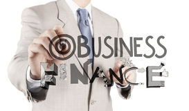 Word BUSINESS  FINANCE Stock Photography