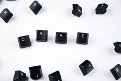 Word care Royalty Free Stock Photography