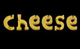 Word Cheese Stock Photo