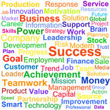 Word cloud business concept Stock Photo