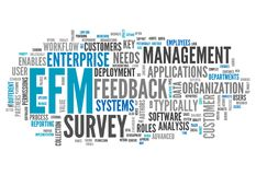 Word Cloud Enterprise Feedback Management. Word Cloud with Enterprise Feedback Management related wording vector illustration