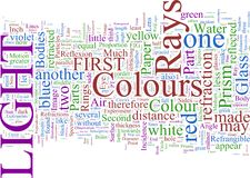 Word Cloud: James Maxwell Clerk Royalty Free Stock Images
