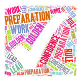 Word cloud - key of success. Word cloud for term key of success Stock Image