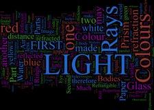 Word Cloud: Newton's Optics Stock Photography