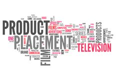 Word Cloud Product Placement vector illustration