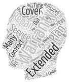 Word Cloud Text Background Concept Stock Image