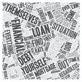 Word Cloud Text Background Concept. Bad Credit Mortgage Loan A Closer Look text background wordcloud concept stock illustration