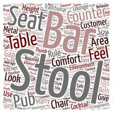 Word Cloud Text Background Concept royalty free illustration