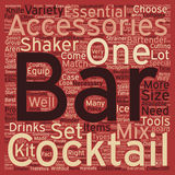 Word Cloud Text Background Concept. The Best Bar Tools For Novice To Pro Bartenders text background wordcloud concept Stock Photo