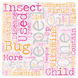Word Cloud Text Background Concept. The Bug Stops Here text background wordcloud concept Royalty Free Stock Image