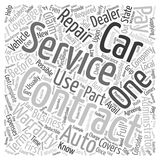 Word Cloud Text Background Concept. Car Service Contracts Full Service Or Foolish Service text background wordcloud concept vector illustration