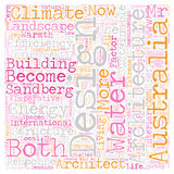 Word Cloud Text Background Concept. Climate A Design Imperative text background wordcloud concept Stock Photo