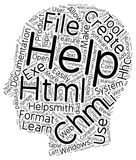 Word Cloud Text Background Concept. Create CHM HTML Help Files Easily text background wordcloud concept stock illustration