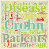 Word Cloud Text Background Concept. Crohn s Disease Explained text background wordcloud concept Royalty Free Stock Image