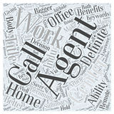 Word Cloud Text Background Concept stock illustration