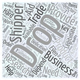 Word Cloud Text Background Concept. The Drop Shipper how they help the business word cloud concept Royalty Free Stock Photo