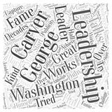 Word Cloud Text Background Concept. George Washington Carver word cloud concept Royalty Free Stock Photography