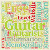 Word Cloud Text Background Concept. Guitar Membership Websites And The Danger Of The Entitlement Mindset text background wordcloud concept royalty free illustration