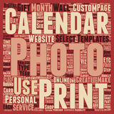 Word Cloud Text Background Concept. How To Personalize Your Photo Calanders Part 1 text background wordcloud concept vector illustration