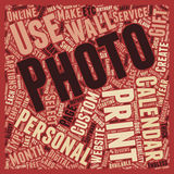 Word Cloud Text Background Concept. How To Personalize Your Photo Calanders Part text background wordcloud concept vector illustration