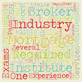 Word Cloud Text Background Concept. How To Qualify As A Mortgage Broker text background wordcloud concept Royalty Free Stock Photography