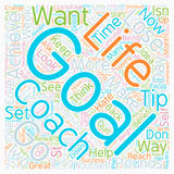 Word Cloud Text Background Concept. How To Set And Achieve Your Goals text background wordcloud concept royalty free stock photos