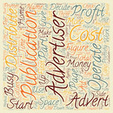 Word Cloud Text Background Concept. How To Start An Ad Agency From Home With No Money Down text background wordcloud concept stock images