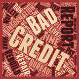 Word Cloud Text Background Concept. How To Wipe Out Bad Credit And Rebuild Your Credit Report text background wordcloud concept Royalty Free Stock Photo