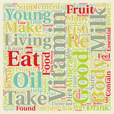 Word Cloud Text Background Concept. How Toxins in Our Diet Can Affect Our Health text background wordcloud concept Royalty Free Stock Photography