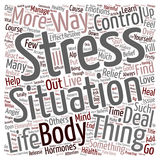 Word Cloud Text Background Concept. How You Can Find Stress Relief text background wordcloud concept Royalty Free Stock Image
