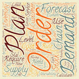 Word Cloud Text Background Concept. The 10 key elements for a Best Practice Supply chain text background wordcloud concept Royalty Free Stock Images