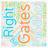 Word Cloud Text Background Concept. Master Resale Rights Lessons Bill Gates Could Teach You text background wordcloud concept Royalty Free Stock Images