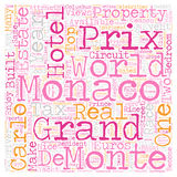 Word Cloud Text Background Concept. Monaco Grand Prix May 28 text background wordcloud concept Stock Photo