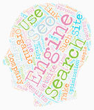 Word Cloud Text Background Concept Stock Photography