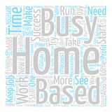 Word Cloud Text Background Concept Royalty Free Stock Photography