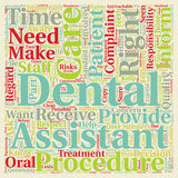 Word Cloud Text Background Concept. Patient Rights in Regard to Dental Care 1 text background wordcloud concept Stock Photography