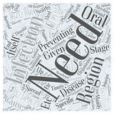 Word Cloud Text Background Concept. Preventing dental disease word cloud concept Stock Photo